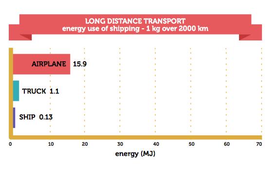 long distance transport