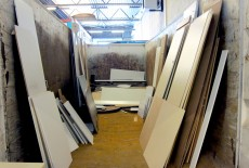 secondhand particleboard