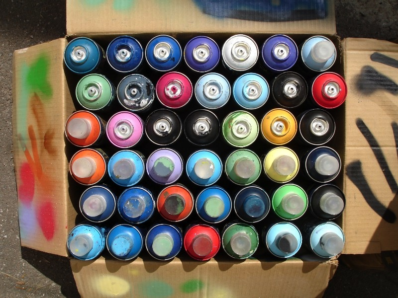 Sustainability And Spray Paint